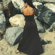 Sarobey Clothing Dress Halter Maxi Derek Heart
