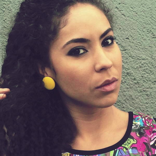 Sarobey Clothing Earrings Plastic Circle Yellow