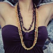 Sarobey Clothing Neckalce Beads Chunk