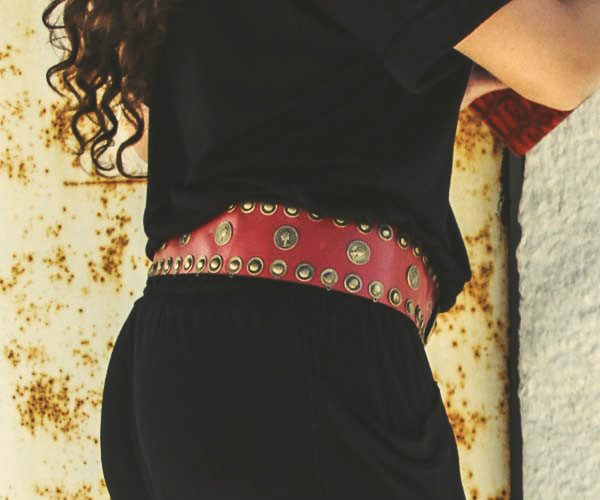 Sarobey Clothing Belt Queen Elizabeth