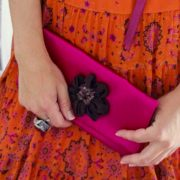 Sarobey Clothing Clutch Cerise Hollywood