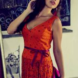 Sarobey Clothing Dress A-Line Kay Unger