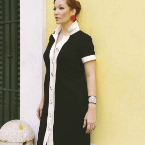 Sarobey Clothing Dress- Shirt Spense