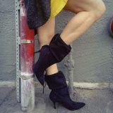 Sarobey Clothing Boots Black